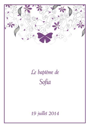 Bevorzugt Découvrez nos livrets de baptême prêts à imprimer ! | Blog livret  VQ39